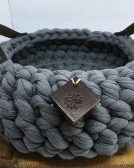 Corbeille en coton, vannerie de coton