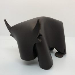 taureau marron chocolat